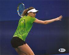 Lucie Safarova Sexy Tennis Signed Auto 8x10 PHOTO Beckett BAS COA