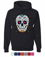Floral Sugar Skull Day of the Dead Hoodie Dia de los Muertos