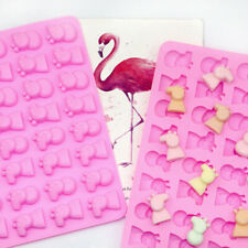 Silicone 32 Peppa Pig Chocolate Candy Mould Cake Cookies Ice Cube Jelly Mold DIY