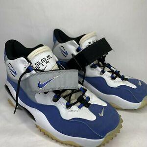 Nike Zoom Air Turf Cross Trainer Shoes Barry Sanders Blue Mens 12 315099-141