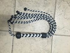 More details for real leather flogger, high quality handmade item