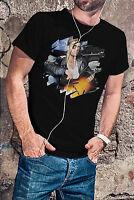 George Michael Men Black Tee Shirt Pop Music RIP Shirt In Memory T-Shirt WHAM