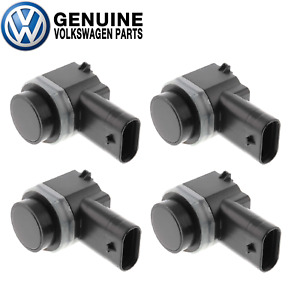 Set of 4 Rear or Front Parking Aid Sensors Genuine For VW Golf Tiguan Touareg