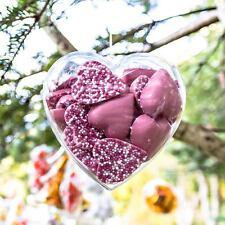100mm Fillable a forma di cuore chiaro Fillable CONTENITORE X1 regalo di san valentino idea