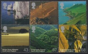 z4545) Great Britain. 2005. MNH.  SG 2512 to 2517 A British Journey. c£11+