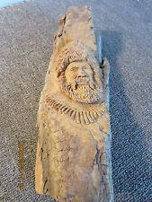Western Americana, Mountain Man, Wood Carving
