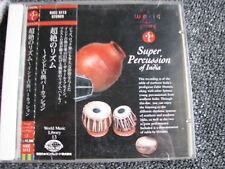 Zakir Hussain-Super Percussion of India CD-Japan-Worldmusic