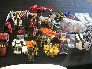 Modern Transformers junk graveyard parts lot