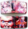 Horror Chucky Doll wallet purse id window zipped coin pocket card 2 styles Lafia