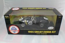 1965 Black  Shelby Cobra 427 new old stock 1-18 ERTL #36680