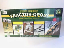 NEW John D Tractor-opoly Collectors Edition Board Game with 6 Custom Pieces
