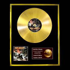 AMON AMARTH TWILIGHT OF THE THUNDER GOD CD  GOLD DISC FREE P+P!!