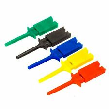 Analyzer Logic Jumper 5 Colors 10pcs Probes Mini Probe SMD Test Clip IC Hook