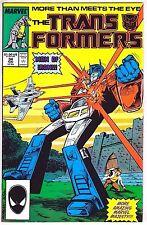 TRANSFORMERS#34 VF/NM 1987  MARVEL COMICS