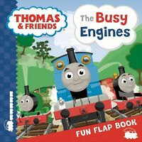 Thomas & Friends: The Busy Engines Lift-the-Flap Book,Bill Boo