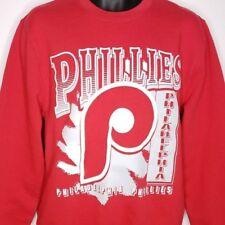 Philadelphia Phillies Sweatshirt Retro Throwback MLB Mitchell & Ness Size Medium