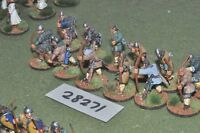 25mm dark ages / norman - archers 12 figures - inf (28271)