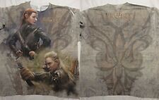The Hobbit Movie Desolation of Smaug Elves Front And Back Sublimation T-Shirt