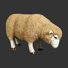 SMALLER SIZE MERINO EWE SHEEP COUNTRYSIDE INDOOR OUTDOOR FARMYARD MODEL GIFT