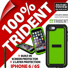 Trident Cyclops Vert étui protection Robuste Armure pour Apple iPhone 6 / 6S