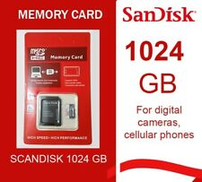 Micro Sd SanDisk Ultra 1024 Gb Nuova For Digital Cameras,Cellular Phones,Gps