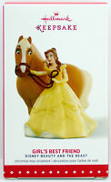 2015 Belle GIRL'S BEST FRIEND NEW Hallmark Beauty and the Beast Ornament HORSE