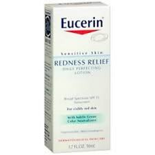Eucerin Redness Relief Daily Perfecting Lotion SPF 15, 1.7 oz (3 Pack)