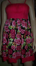 Unbranded Women's No Pattern Strappy, Spaghetti Strap Sundress Dresses