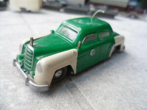 Siku Mercedes Polizei 180 in 1:60  graue Reifen Oldtimer Modell Blaulicht fehlt