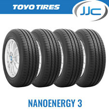 4 x 195/65/15 Toyo Nanoenergy 3 Premium Eco Road Car Tyres 195 65 15 91T