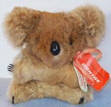 Blue Gum Baby 6� furry Koala Bear plush Compliments Of Qantas made in Australia