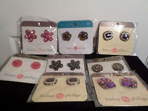 Lindsay Phillips lot of 8 pair of Snaps,Switch Flops