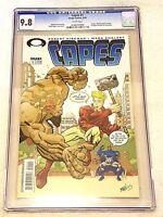 Capes #1  CGC 9.8 NM/MT, Image 2003, 1st Walking Dead Preview, Kirkman, White
