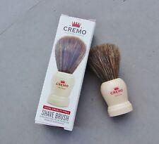Cremo Shaving Brush NIB Handcrafted Cruelty-free Premium Spanish Horsehair 3 3/4