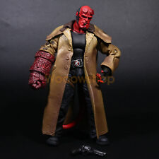 "Hellboy Mezco HB 7"" Action Figure Smoking Ver. Series 2 Collection Loose No Box"