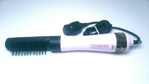 "Calista 1.5"" StyleDryer Custom Blowout Pro Hair Styling Wand PINK"
