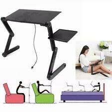 Adjustable Fold Laptop Desk Table Notebook Computer Stand Bed Sofa Holder Tray