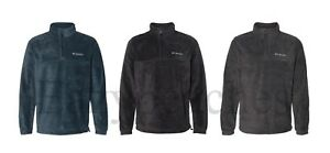 Columbia Sport - Men's Size S-3XL, 4XL Polar FLEECE, Pullover Zip Jacket, steens