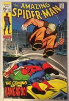 Amazing Spider-Man #81 (Marvel 1970) Bronze age classic. FN+ condition.