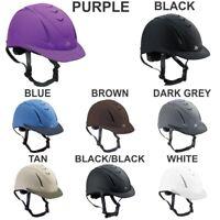 Ovation Ventilated Deluxe Schooler Helmet Dark Grey U-KGRY