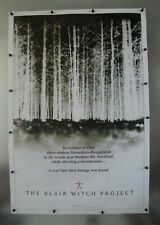 """The Blair Witch Project Vintage Movie Poster 1999 23""""W x 34""""H Used Pre-Owned"""