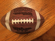Vintage Wilson Leather Official Football w/Laces 1001 Nfl Pattern Model