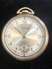Pocket Watch Waltham 10k Gold Chronometre