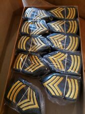 Us Army Insignia Women's Master Sargent full color 100 pair Nos