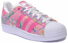 adidas Lace Up Floral Trainers for Women