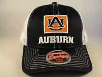 Auburn Tigers NCAA Zephyr Trucker Snapback Hat Cap Navy White