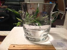Princess House # 6190A NEW IN BOX Heritage Pattern Ice Bucket.  GORGEOUS!
