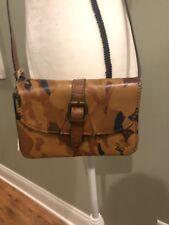 Patricia Nash Parisian Camo Leather Torri Crossbody Shoulder Bag