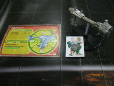 Star Wars Miniatures Starship Battles Rebel Cruiser with card 9/60