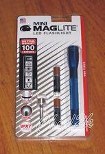 Maglite AAA 2 Cell LED Blue maglight LED mag-lite mag-light LED! 100 LUMENS